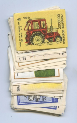 Набор спичечных этикеток (89 шт.) (СССР)