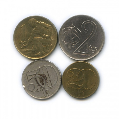 Набор монет 1991 года (Чехословакия)