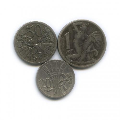 Набор монет 1924 года (Чехословакия)