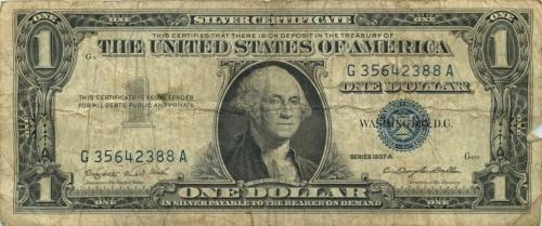 1 доллар 1957 года (США)