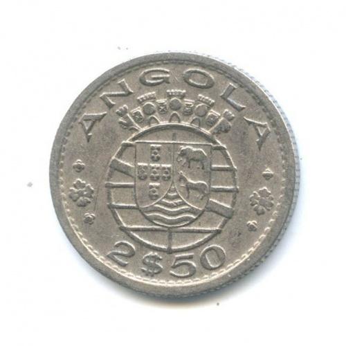 2.5 эскудо (Португальская Ангола) 1956 года (Португалия)