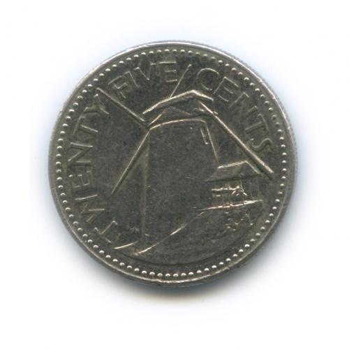 25 центов 1987 года (Барбадос)