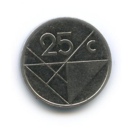 25 центов 2004 года (Аруба)