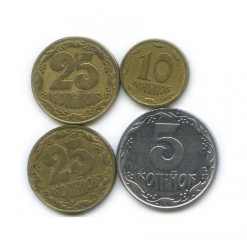 Набор монет 1992, 1996 (Украина)