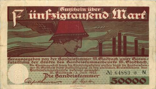 50000 марок 1923 года (Германия)