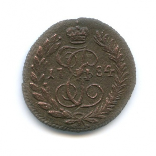 Полушка (1/4 копейки) 1784 года КМ (Российская Империя)