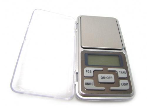 Весы электронные «Pocket Scale», сбатарейками (200гр/0.1 гр)