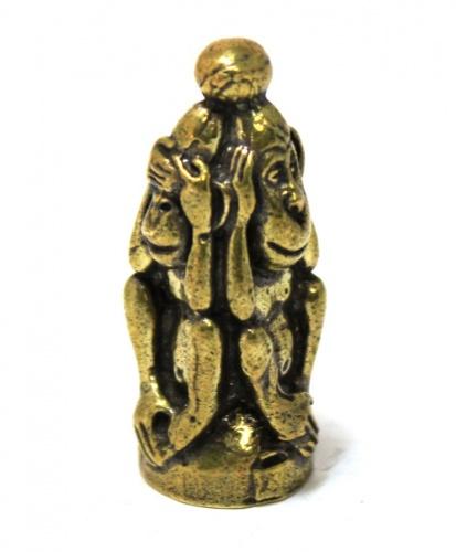 Фигурка «Три обезьяны» (бронза, 3,5 см)