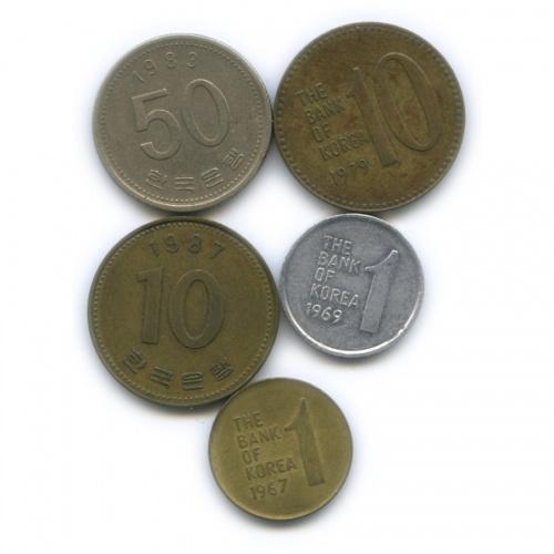 Набор монет (Южная Корея)