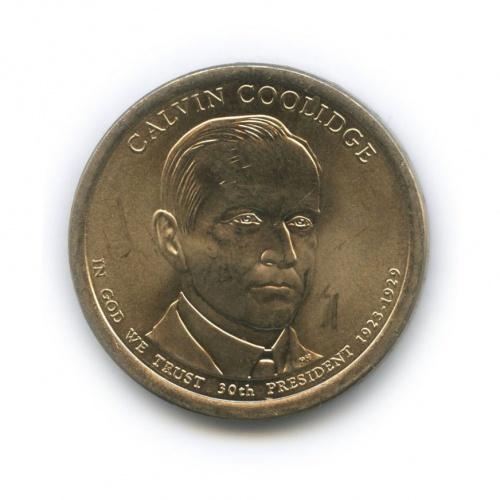 1 доллар — 30-ый Президент США - Калвин Кулидж (1923–1929) 2014 года D (США)