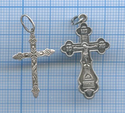 Набор нательных крестиков (925 проба серебра)