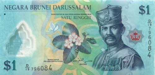 1 доллар (Бруней-Даруссалам) 2011 года