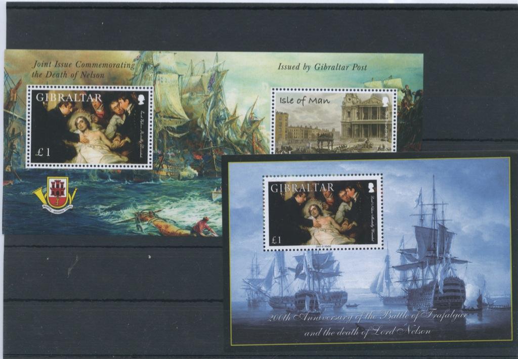 Набор почтовых марок (Гибралтар)