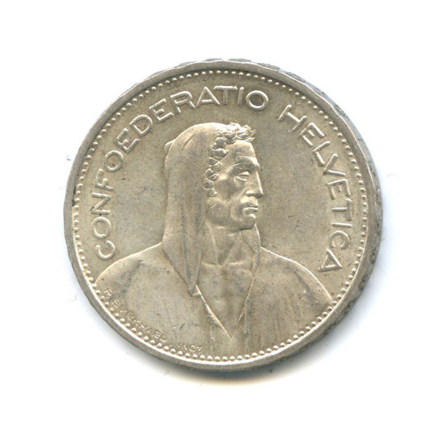 5 франков 1932 года (Швейцария)