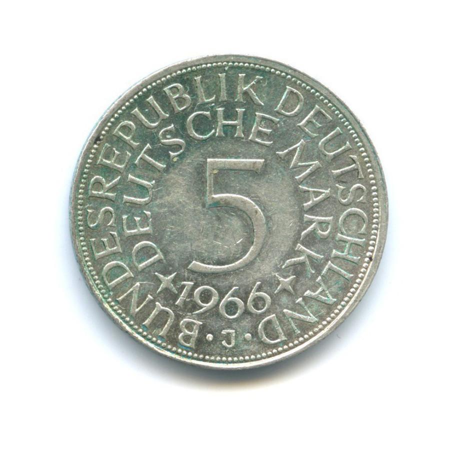 5 марок 1966 года J (Германия)