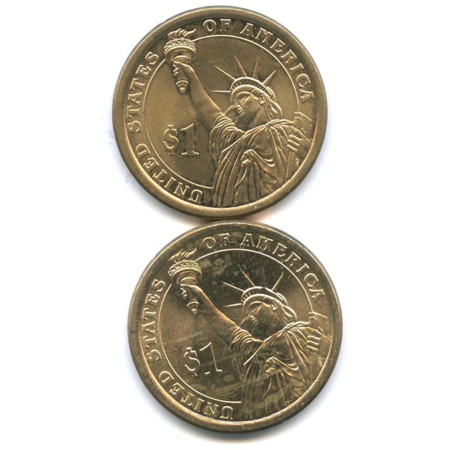 Набор монет 1 доллар - Президенты США 2015 года Р (США)