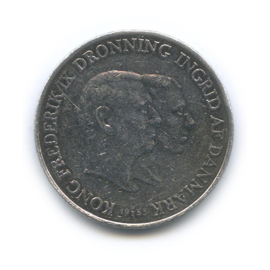 2 кроны — Компания против туберкулёза вГренландии 1953 года (Дания)