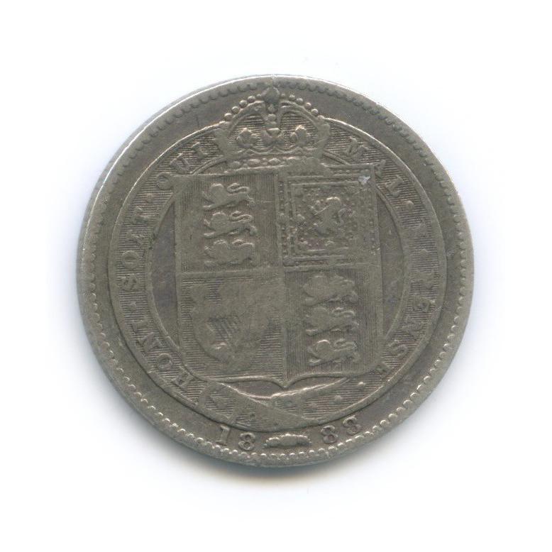 1 шиллинг 1888 года (Великобритания)