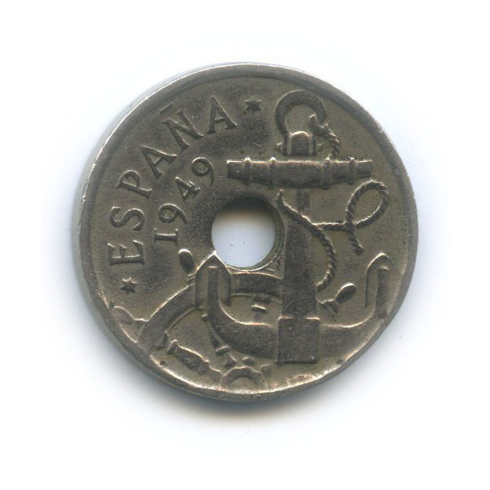 50 сентимо 1949 года 51⇈ (Испания)