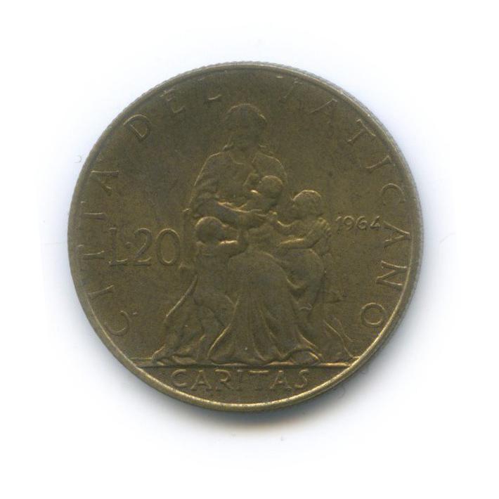 20 лир - Любовь 1964 года (Ватикан)