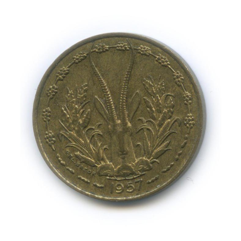10 франков, Французская Западная Африка (Того) 1957 года