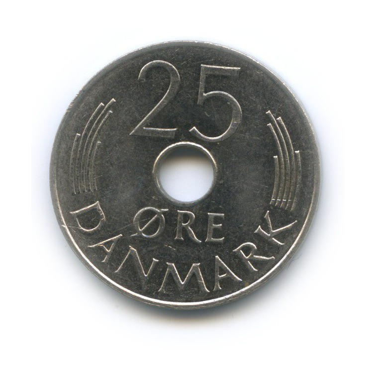 25 эре 1976 года (Дания)