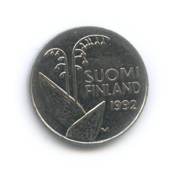 10 пенни 1992 года (Финляндия)