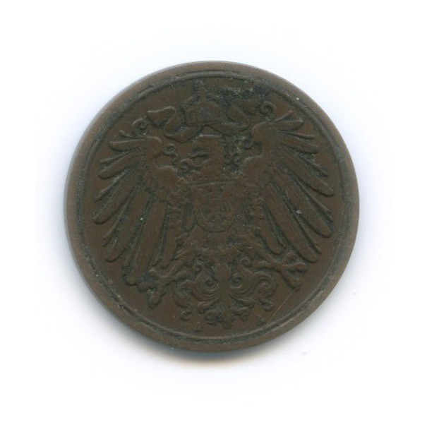 1 пфенниг 1911 года А (Германия)