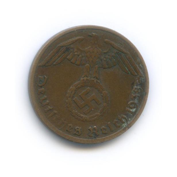 1 рейхспфенниг 1938 года A (Германия (Третий рейх))
