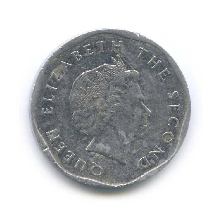5 центов, Восточные Карибы 2004 года