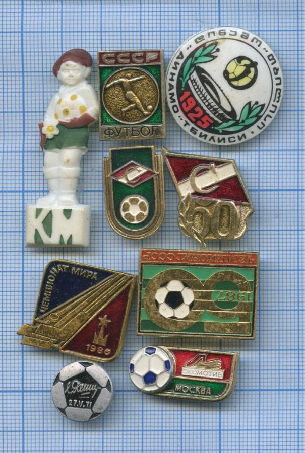 Набор значков «Футбол» (СССР)