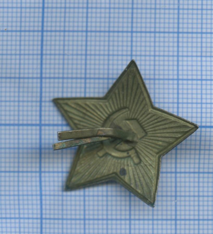 Кокарда «Звезда» (втяжелой эмали) (СССР)