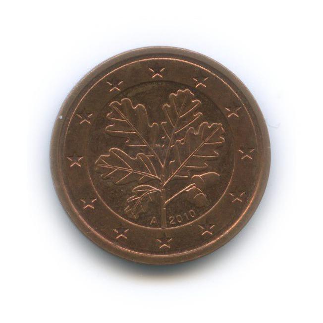 2 цента 2010 года A (Германия)