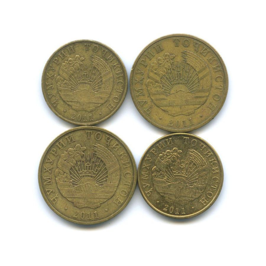 Набор монет 2011 года (Таджикистан)