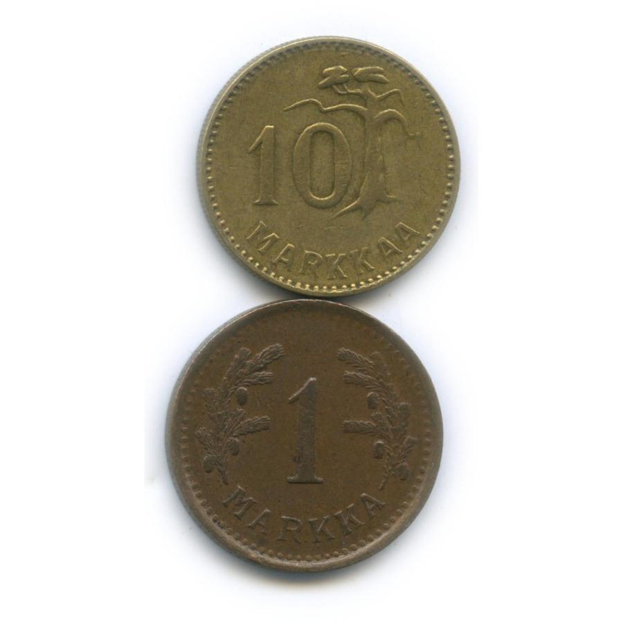 Набор монет 1950, 1953 (Финляндия)
