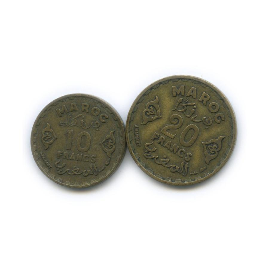 Набор монет 1951 года (Марокко)