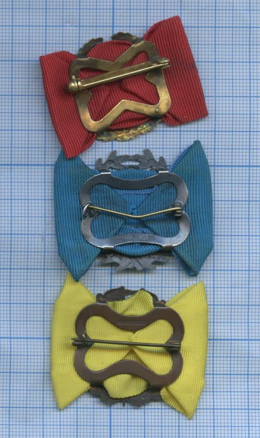 Набор знаков выслуги лет (Финляндия)
