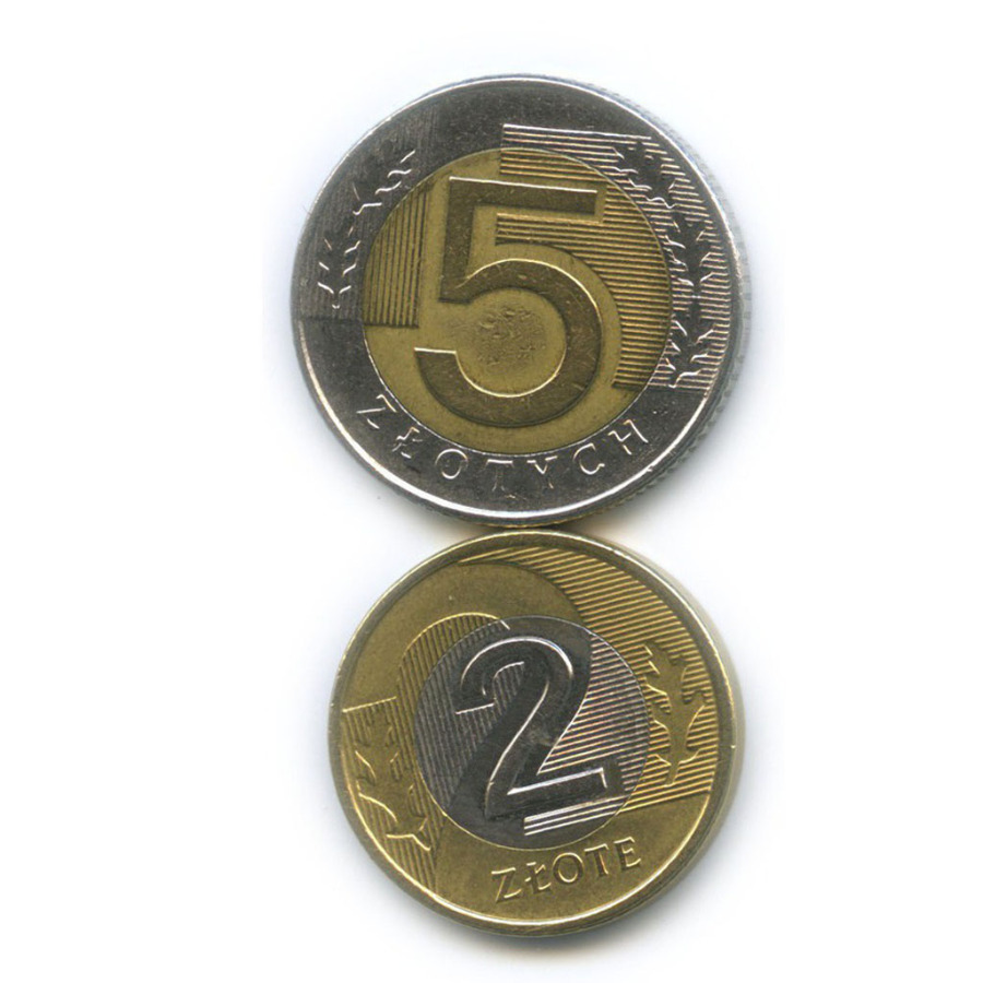 Набор монет 1994, 2010 (Польша)