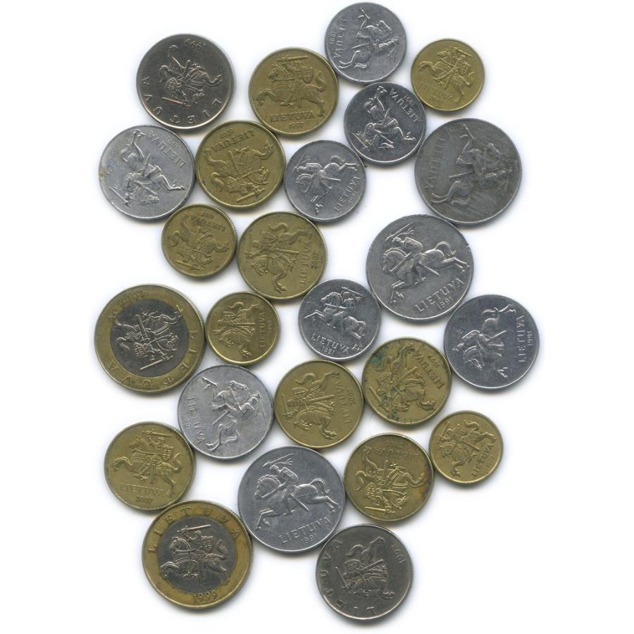 Набор монет (разные страны), 25 шт