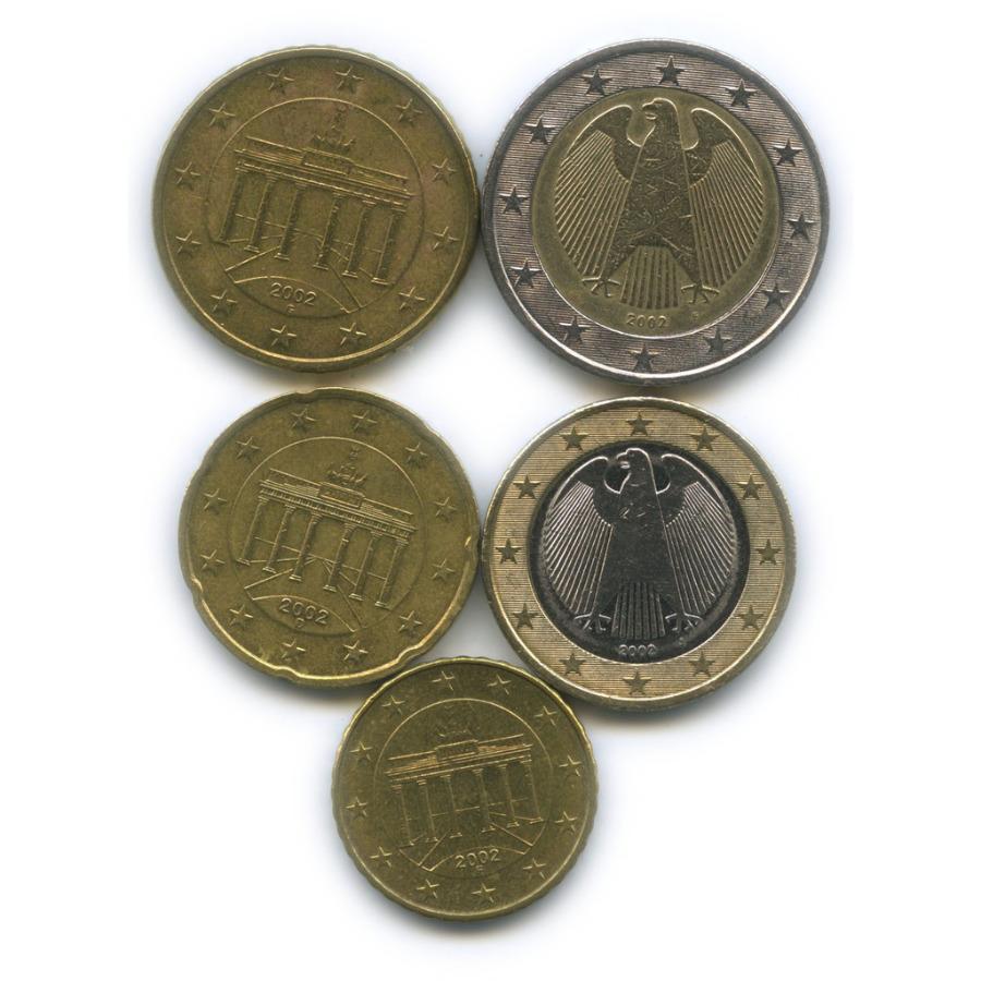 Набор монет 2002 года (Германия)