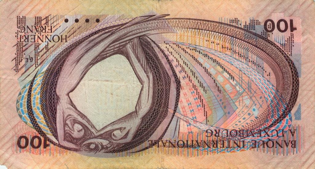 100 франков 1981 года (Люксембург)