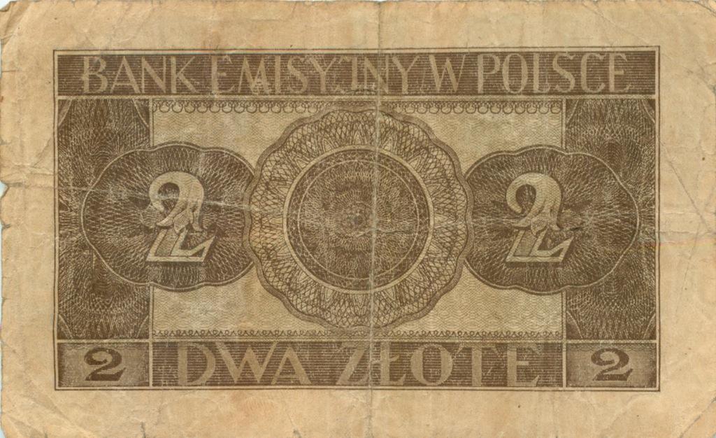 2 злотых (Германия для оккупированной Польши) 1941 года (Германия (Третий рейх))