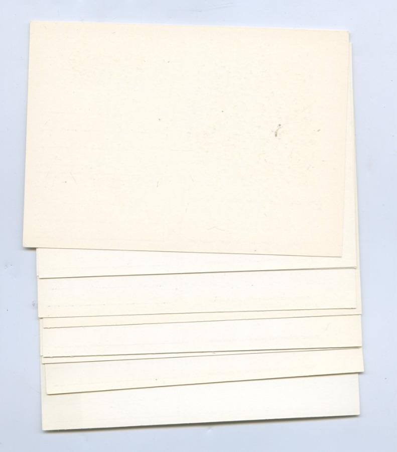 Набор открыток (соригинальной маркой, 10 шт.) (СССР)