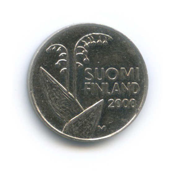 10 пенни 2000 года (Финляндия)