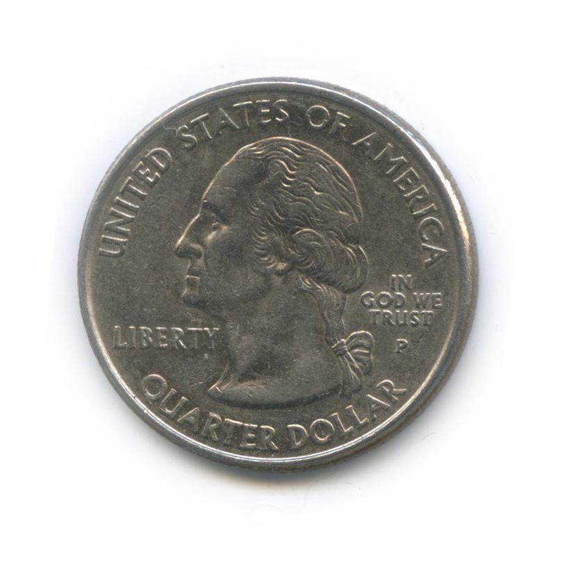 25 центов (квотер) — Квотер штата Массачусетс 2000 года P (США)
