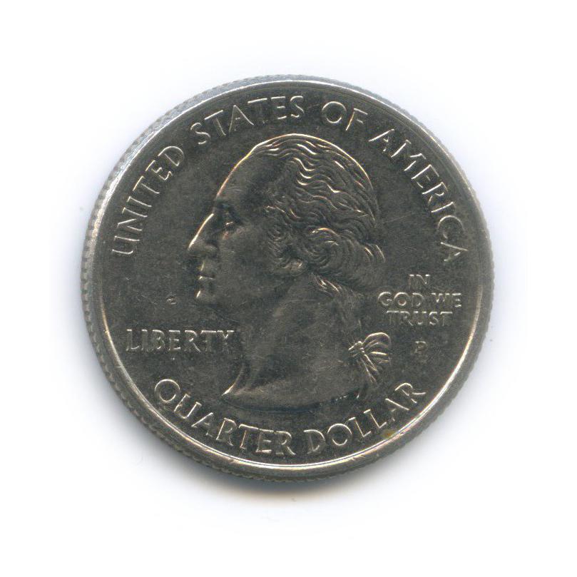 25 центов (квотер) — Квотер штата Канзас 2005 года P (США)