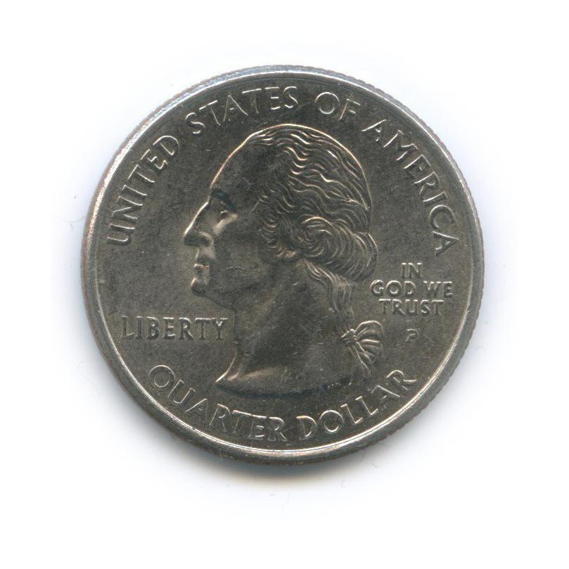 25 центов (квотер) — Квотер штата Огайо 2002 года P (США)