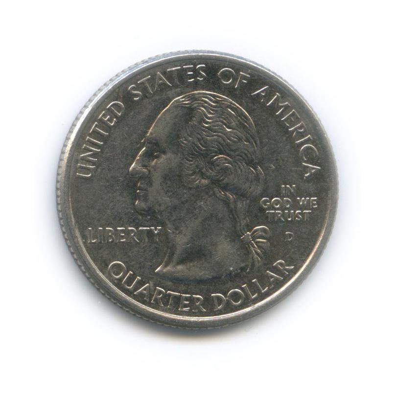 25 центов (квотер) — Квотер штата Мэн 2003 года D (США)