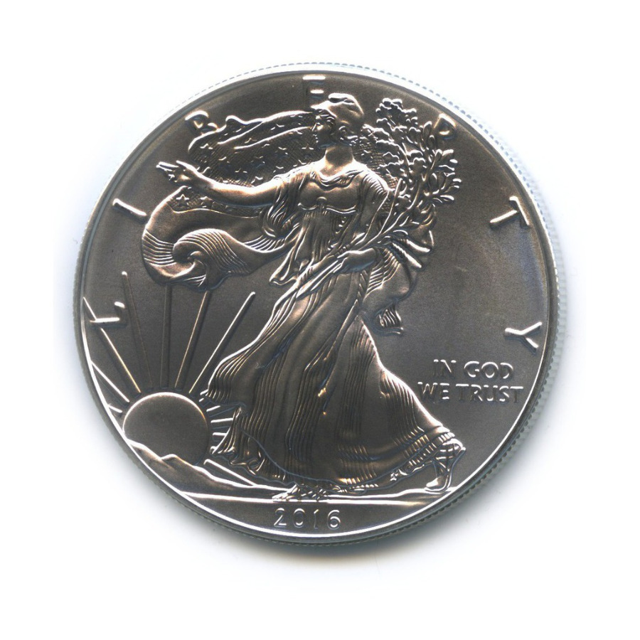 1 доллар — American Silver Eagle 2016 года (США)