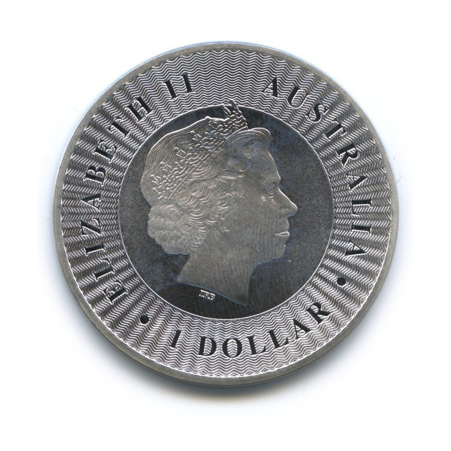 1 доллар - Австралийский кенгуру 2016 года (Австралия)